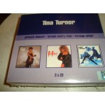 TINA TURNER - BOX 3 CD  PRIVATE DANCER / BREAK EVERY RULE / FOREIGN AFFAIR