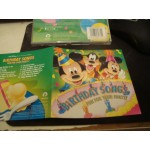 WALT DISNEY RECORDS PRESENTS  BIRTHDAY SONGS - FUN FOR YOUR PARTY