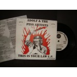 Adolf & the piss artists - This is your law E.P.