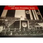 Aufruf an das ..Adolf Hitler Kundgebung der NSDAP..