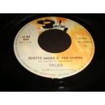 Dalida - La Danza Di Zorba / Questo amore e per sempre