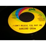 Garland green - I can't believe you quit me