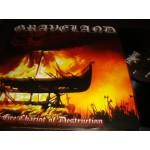 Graveland - Fire Chariot of Destruction / Impaler's Wolves