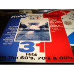 Hallo Bonjour Salut - 31 hits from the 60's / 80's ..Vol 2