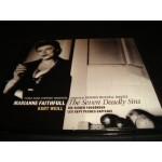 Marianne Faithfull - the seven deadly sins